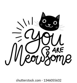 Cute Cat Quotes Stock Illustrations, Images & Vectors ...