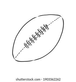 <b>Football Outline</b> High Res Stock <b>Images</b>   Shutterstock