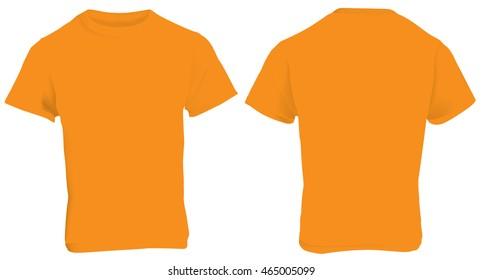 le dernier 44bcd a0760 Orange T-shirt Images, Stock Photos & Vectors | Shutterstock