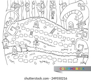 Coloring Pages Board Game Images, Stock Photos & Vectors | Shutterstock