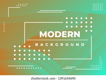 Vector illustration of bright color abstract pattern background