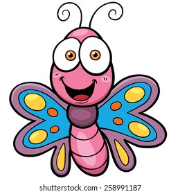 butterfly cartoon images stock photos vectors shutterstock rh shutterstock com cartoon butterfly pictures cute cartoon butterfly images