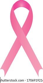 vector illustration of Cancer Awareness Ribbon