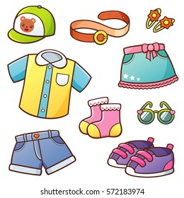 Cartoon Clothes Images Stock Photos Amp Vectors Shutterstock