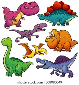 Dinosaur Cartoon High Res Stock Images Shutterstock