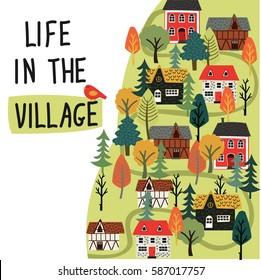 village life images stock photos vectors shutterstock