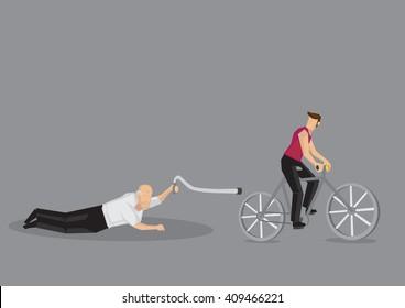 Older Man Looking Down Stock Illustrations Images Vectors Shutterstock