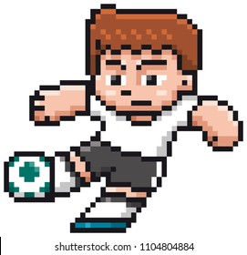 Pixel Art Football Images Stock Photos Vectors Shutterstock