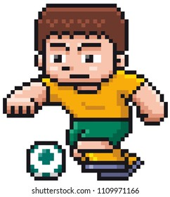 Soccerpixelart Images Stock Photos Vectors Shutterstock