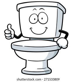 cartoon toilet images stock photos vectors shutterstock rh shutterstock com toilet seat clip art free toilet seat clip art free