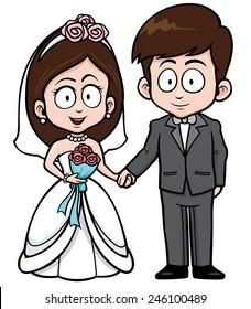 Image result for wedding cartoon image