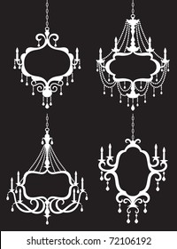 only pertaining decor thesecretconsul frame chandelier to popular home metal