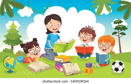 Teacher Cartoon Images, Stock Photos & Vectors   Shutterstock