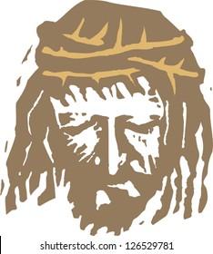 Vector illustration of Christ