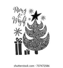 Vector illustration of Christmas decoration