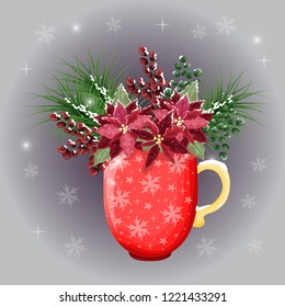Christmas Vases Images Stock Photos Vectors Shutterstock