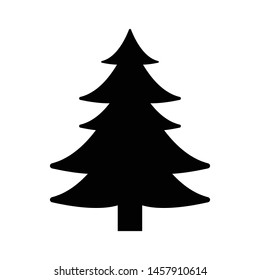 Vector illustration of a Christmas tree concept.