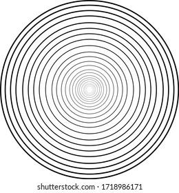vector illustration: circle for hypnosis circle in a circle. abstraction