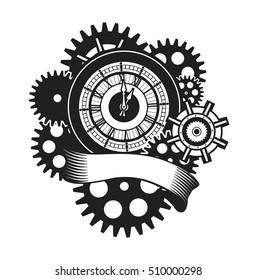 Ilustraciones, imágenes y vectores de stock sobre Clock Faces with