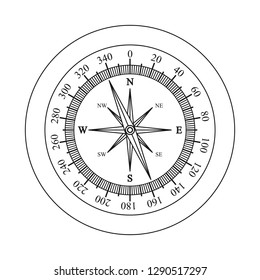 Vector illustration of clock and time sign. Collection of clock and circle stock vector illustration.