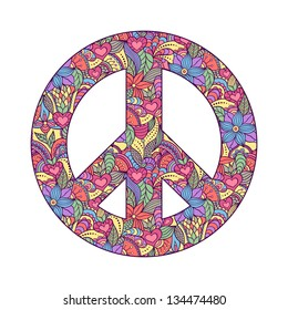 RETRO 70/'S  TIE DYE PEACE SIGN # 30 MULTI COLORS  LIGHT SWITCH COVER PLATE