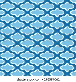 Vector illustration of complex islamic pattern
