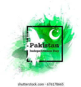 14 august images stock photos vectors shutterstock vector illustration concept for 14 august pakistan independence day grunge style design template poster stopboris Choice Image