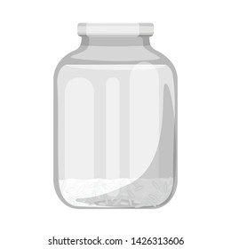 Vector illustration of cook and water icon. Set of cook and process stock vector illustration.