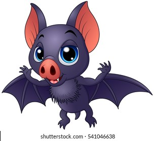 flying bat cartoon images stock photos vectors shutterstock rh shutterstock com cartoon bat pictures to print cartoon bat images
