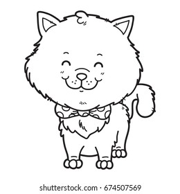 Coloriage Chat Maine Coon.Chat Coloriage Stock Vectors Images Vector Art Shutterstock