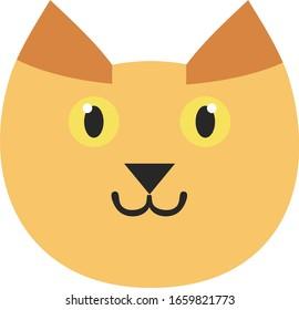 猫 顔 イラスト のイラスト素材 画像 ベクター画像 Shutterstock