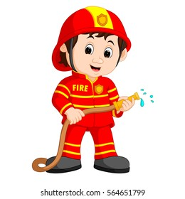 Fireman Cartoon Images, Stock Photos & Vectors | Shutterstock