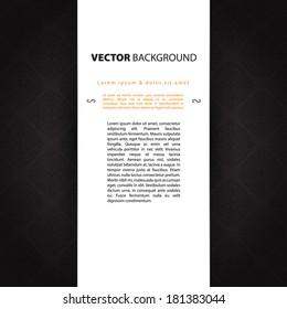Vector illustration of Dark design template