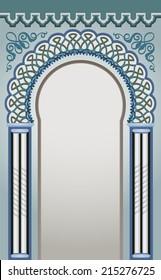 Vector Illustration of Decorative Arc - eps 10