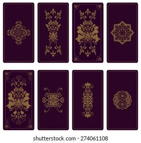 Vector illustration design for Tarot cards
