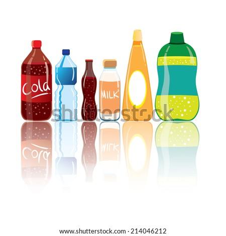 Vector illustration of drink