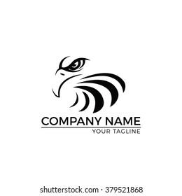 Vector Illustration : Eagle Logo,Vector Logo Template