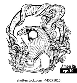 GODS AND GODDESSES of Ancient Egypt coloring pages - Coloring ... | 280x260
