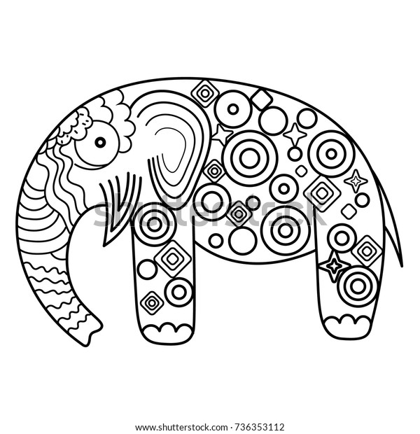 Coloring sheet elephant Cute baby elephant coloring page free ... | 620x600