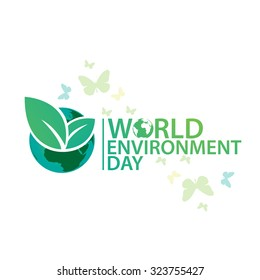 Vector illustration of  Environment Day