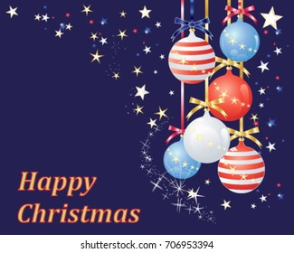 Patriotic Christmas Background.Patriotic Christmas Images Stock Photos Vectors