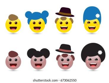 emoji family images stock photos vectors shutterstock