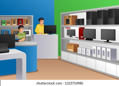 Computer Store Images, Stock Photos & Vectors | Shutterstock