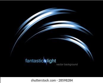 vector illustration fantastic light