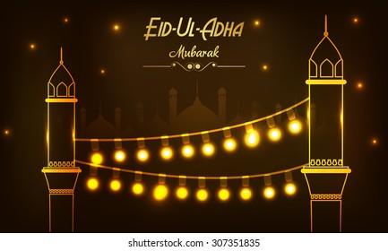 Vector Illustration festival of Eid-Ul-Adha.