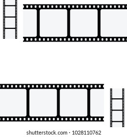 vector illustration of film tape film tape with free space for text for movie posters