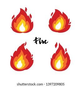 Fire Emoticon Images, Stock Photos & Vectors | Shutterstock