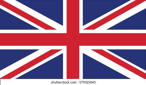 Vector Illustration , Flag of United Kingdom