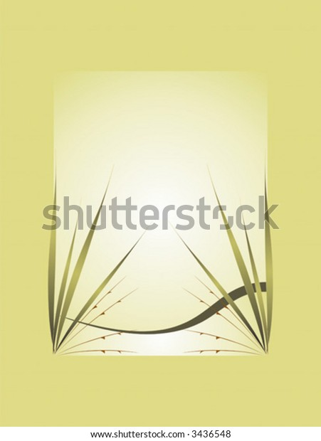 Vector illustration of floral decorative ornament