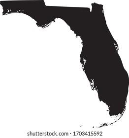 vector illustration of Florida map